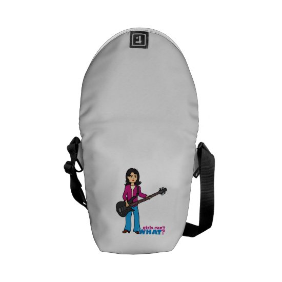 Bass Guitar Player - Medium Courier Bag