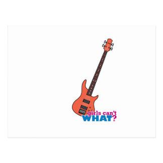 Bass Guitar Postcards