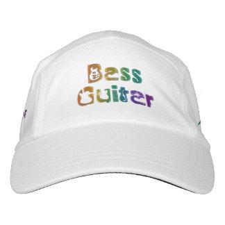 Bass Guitar Rainbow Rock Music Hat