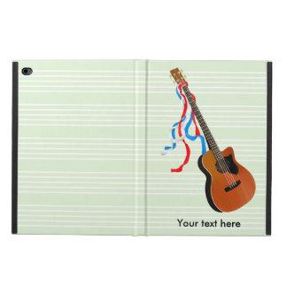 Bass Guitar Red White Blue Streamers Powis iPad Air 2 Case