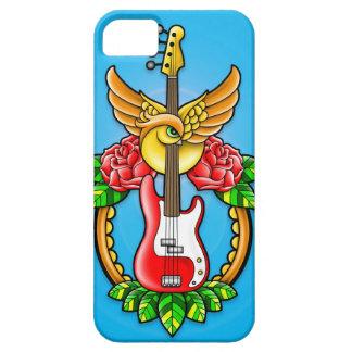 Bass Guitar Tattoo iPhone SE/5/5s Case