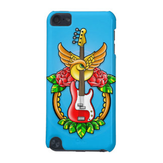 Bass Guitar Tattoo iPod Touch (5th Generation) Cover