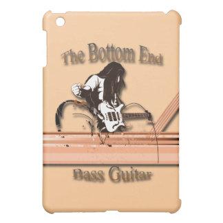 Bass Guitar the Bottom End brown iPad Mini Cover
