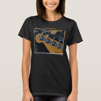 bass guitar tuning pegs T-Shirt