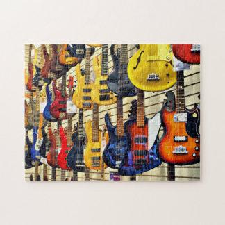 Bass Guitars Jigsaw Puzzles