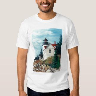 Bass Harbor head Light, Maine 2000 T-Shirt