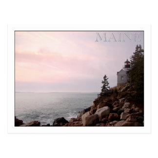 Bass Harbor Head Light, MAINE Post Cards
