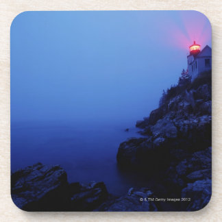 Bass Harbor Head Light Mount Desert Island Coaster