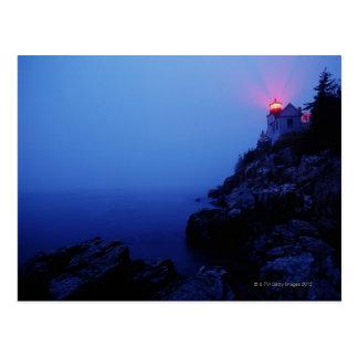 Bass Harbor Head Light, Mount Desert Island, Postcard