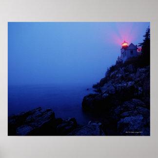 Bass Harbor Head Light, Mount Desert Island, Print
