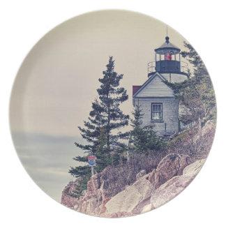Bass Harbor Head Light Plate