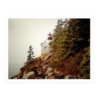 Bass Harbor Head Light Postcard