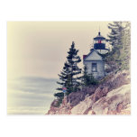 Bass Harbor Head Light Postcard
