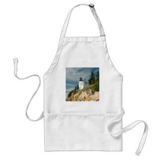 Bass Harbor Head Lighthouse Adult Apron