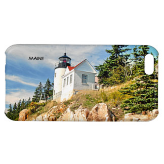 BASS HARBOR HEAD LIGHTHOUSE, MAINE COVER FOR iPhone 5C