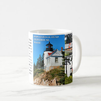 Bass Harbor Head Lighthouse, Maine Mug