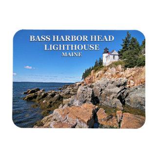 Bass Harbor Head Lighthouse, Maine Photo Magnet
