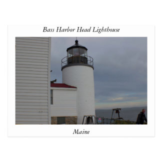 Bass Harbor Head Lighthouse Maine Postcard