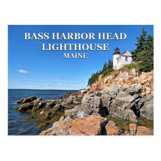 Bass Harbor Head Lighthouse, Maine Postcard