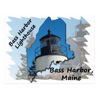 Bass Harbor Head Lighthouse Postcard