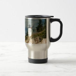 Bass Harbor Head Lighthouse Travel Mug