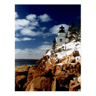 Bass Harbor Headlight Postcard - 1
