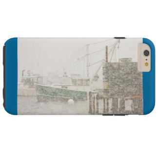 Bass Harbor in Heavy Snowstorm, Coast of Maine Tough iPhone 6 Plus Case