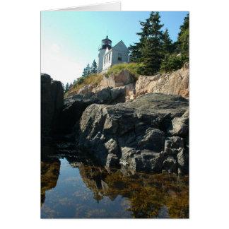 Bass Harbor Light Card
