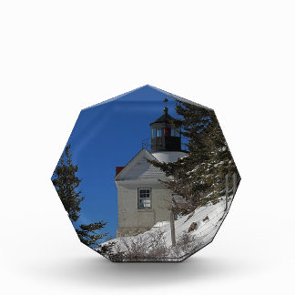 Bass Harbor Light in Winter Acrylic Award