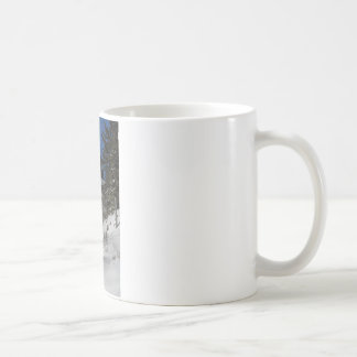 Bass Harbor Light in Winter Coffee Mug