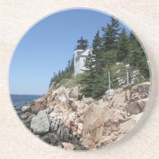 Bass Harbor Lighthouse 5 Drink Coaster