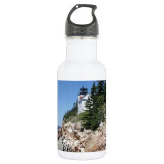 Bass Harbor Lighthouse 5 Water Bottle