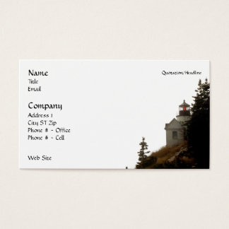 Bass Harbor Lighthouse Business Cards