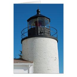 Bass Harbor Lighthouse card