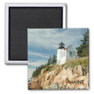 BASS HARBOR LIGHTHOUSE, MAINE MAGNETS