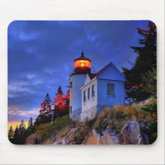 Bass Harbor Lighthouse, Maine Mousepad