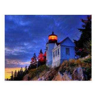 Bass Harbor Lighthouse, Maine Postcard