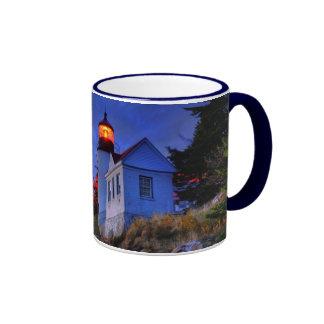 Bass Harbor Lighthouse, Maine Ringer Mug