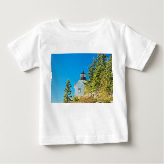 Bass Harbor Lighthouse  Mount Desert Island Maine Baby T-Shirt