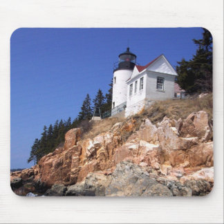 Bass Harbor Lighthouse Mouse Pad