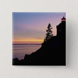 Bass Harbor lighthouse on Mt. Desert Island, Button