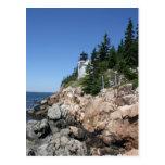Bass Harbor Lighthouse Post Card
