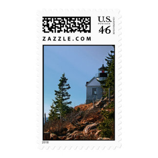 Bass Harbor Lighthouse Postage Stamps