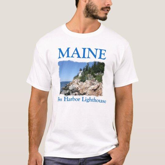 Bass Harbor Lighthouse T-Shirt