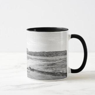 Bass Harbor Marsh Sketch Mug