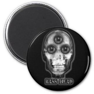 BASS HEAD Dubstep Artist Magnet