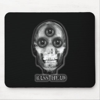 BASS HEAD Dubstep Artist Mouse Pad