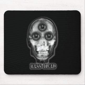 BASS HEAD Dubstep Artist Mousepads