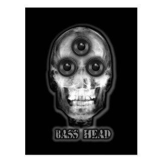 BASS HEAD Dubstep Artist Postcard
