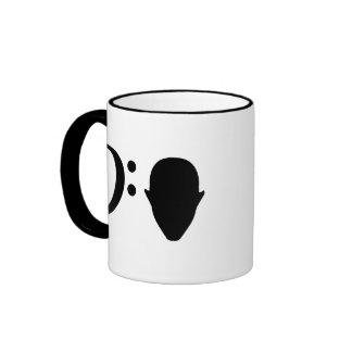 Bass Head Coffee Mugs